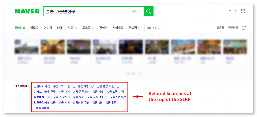 Naver Related Searches