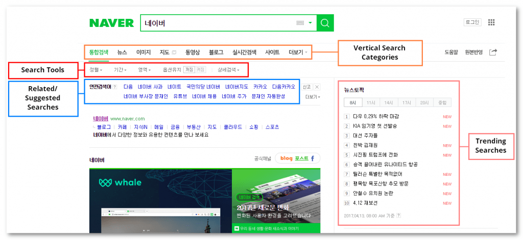 naver search engine