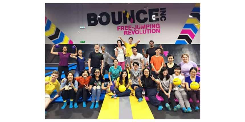 Team Building Bounce