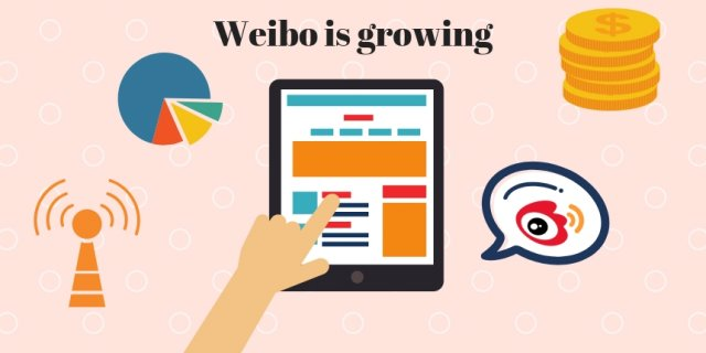 Weibo is growing