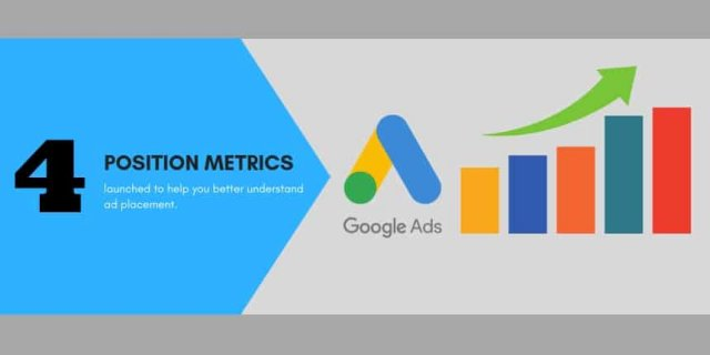 Google Ads launches new position metrics