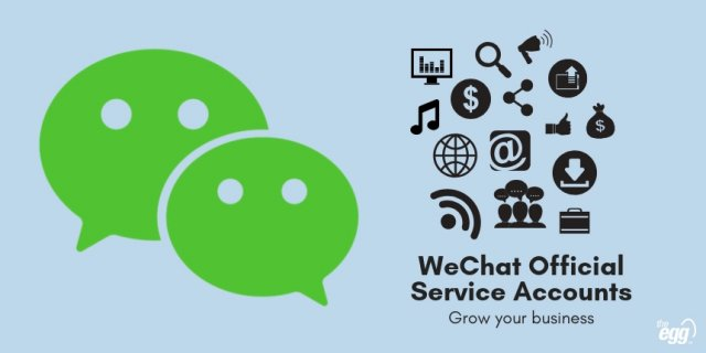 WeChat Official Service Accounts - Grow your Business