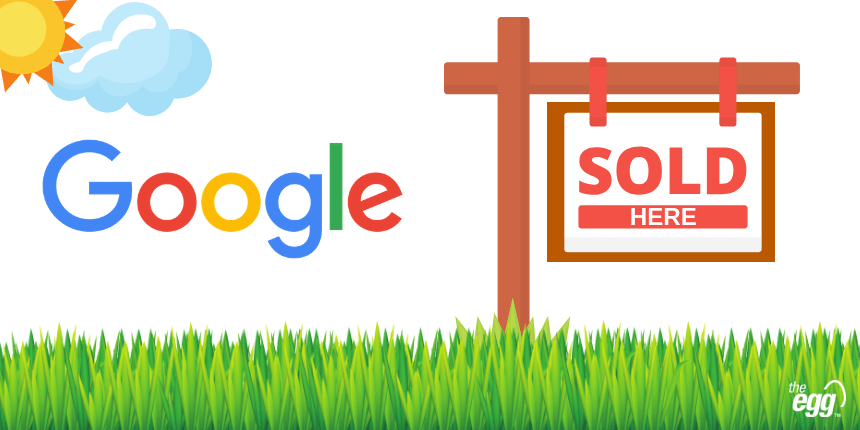 Google Sold Here Label