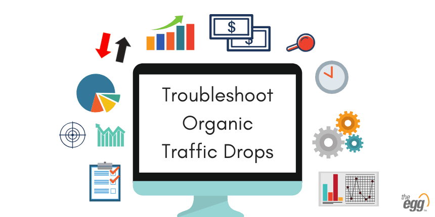 Troubleshoot organic traffic drops google