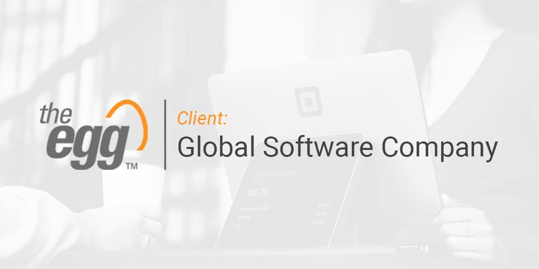The Egg Case Study - Global Software Company
