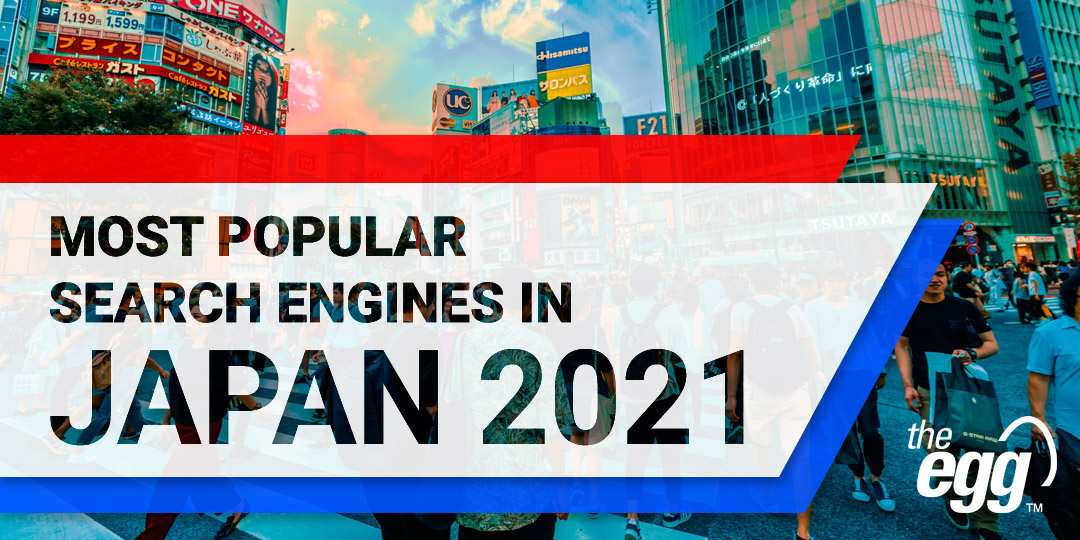 Most popular search engines in Japan 2021