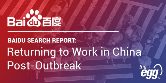COVID-19 Baidu Search Report - Resumption of Work