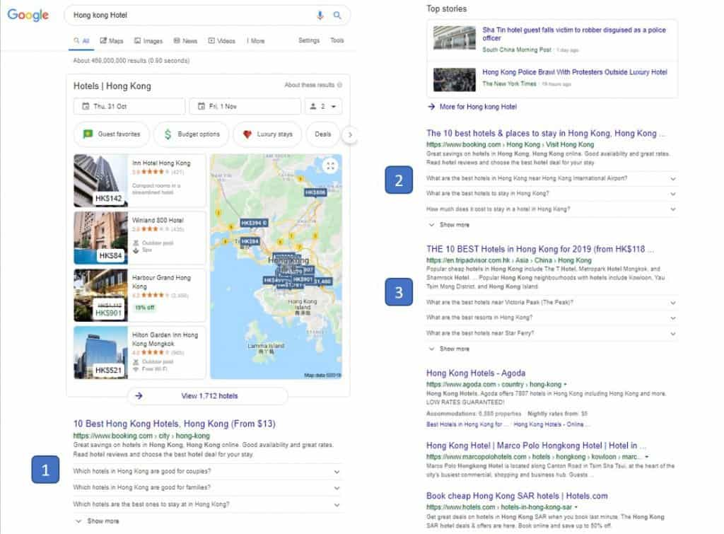 Google only display no more than 3 FAQ rich snippets on the 1st page of the SERP