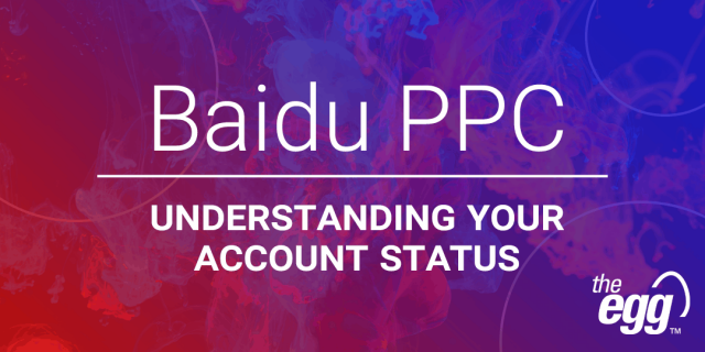 Baidu PPC - 5 Ad Account Activation States