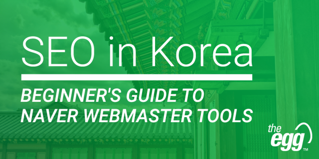 Beginners Guide - Naver Webmaster Tools - SEO in Korea