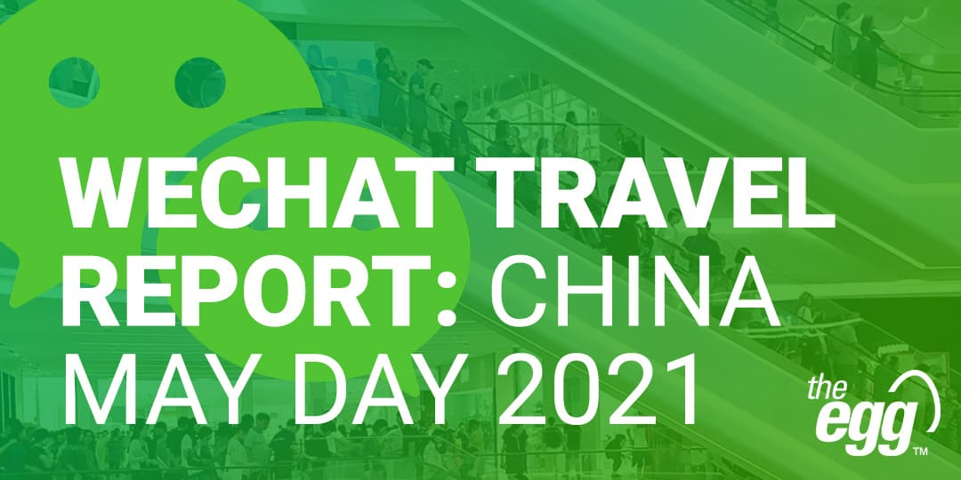 WeChat Travel Report - China May Day 2021