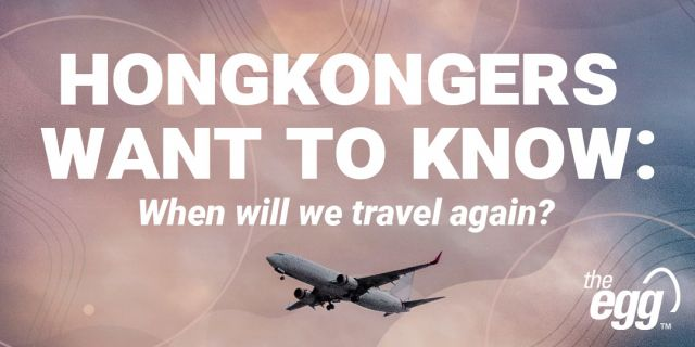 Hongkongers want to know when will we travel again