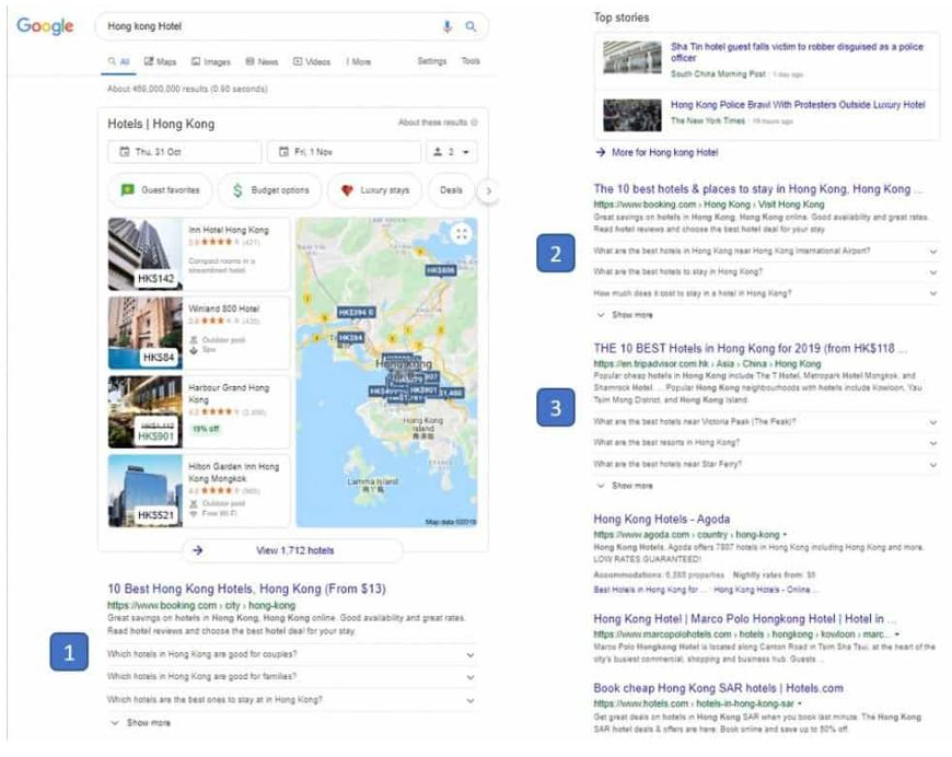 3. FAQ featured snippets on Google's SERP (mobile) - Before June 2021 update