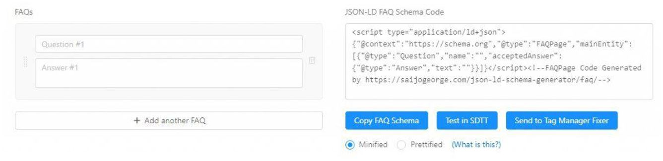 6. Implementing FAQ schema markup with JSON-LD